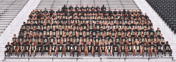 2019 BA Tiger Football Team Picture